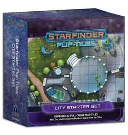Paizo Publishing SFRPG: Flip-Tiles: City Starter Set