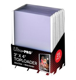 Ultra Pro TopLoader: 3X4 WH Ss