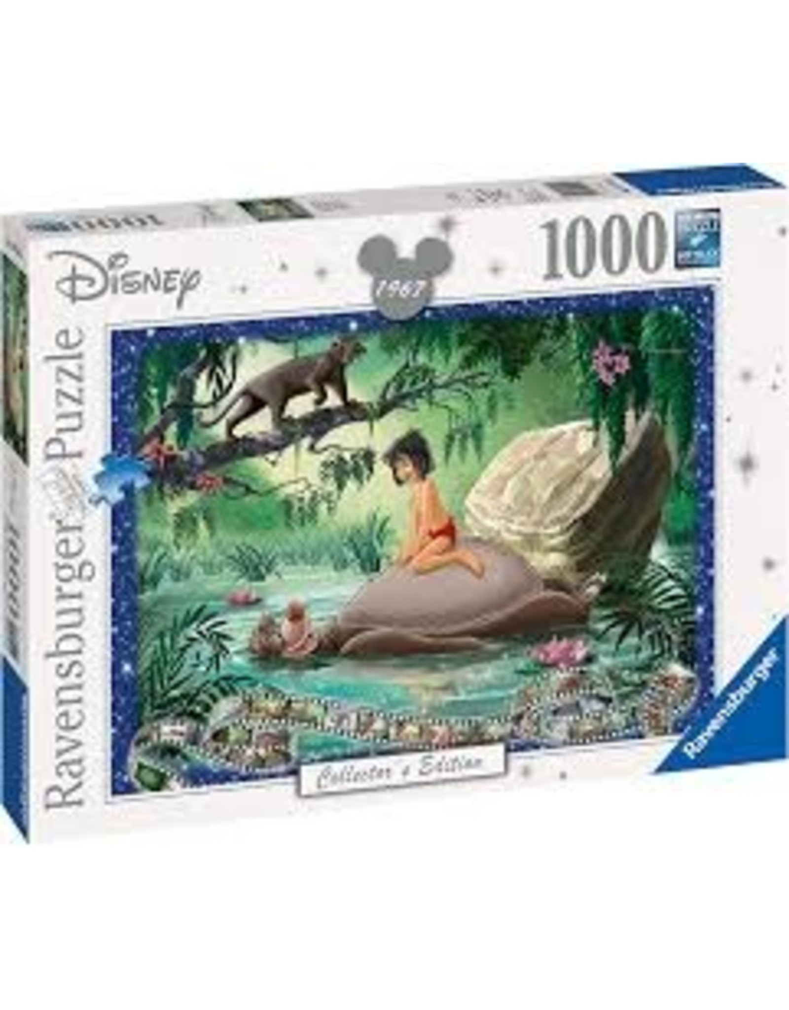 Ravensburger Jungle Book - Disney (1000 piece)