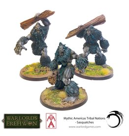 Warlord Games Mythic Americas: Sasquatches  (Pre Order) (Special Order Only)