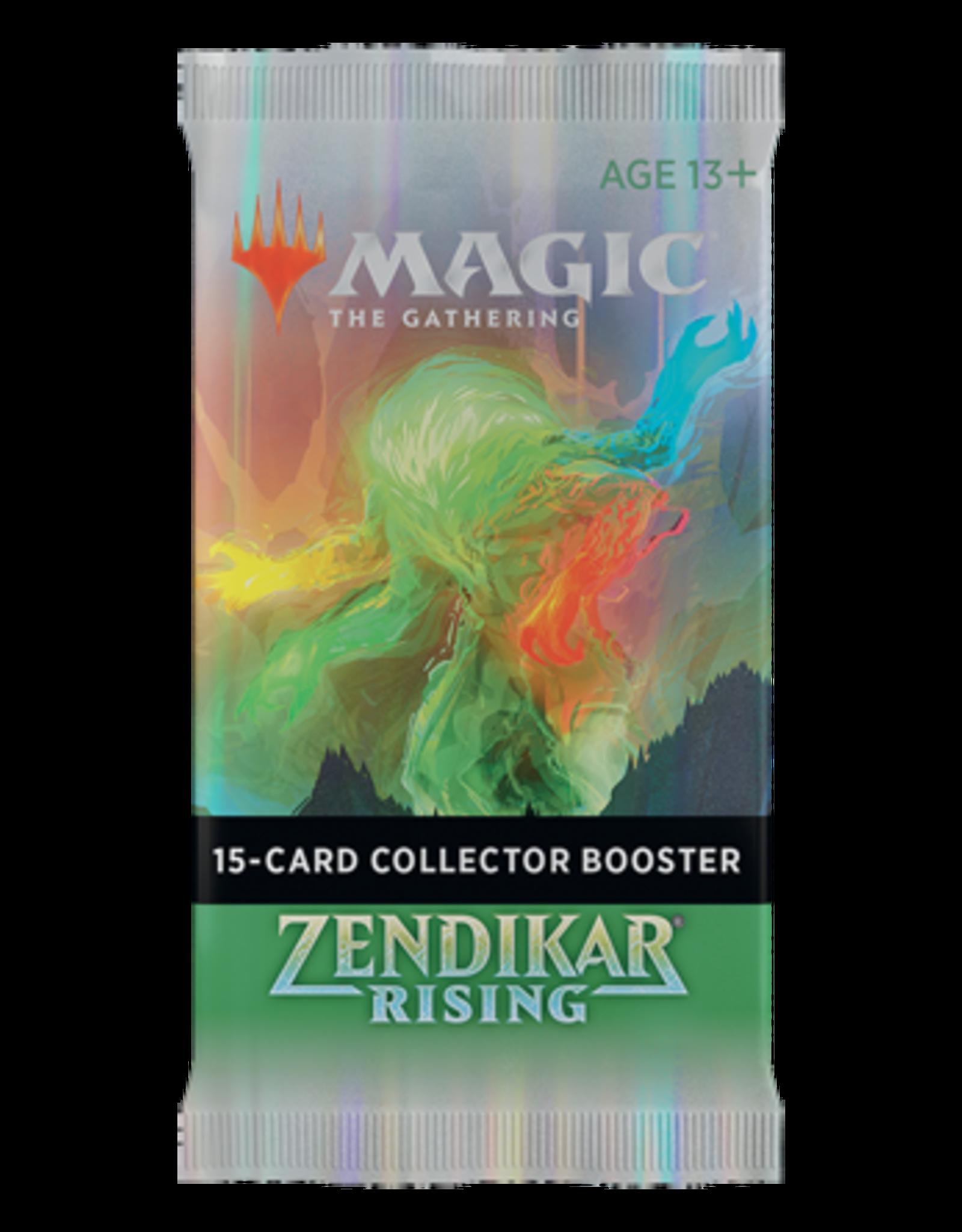 Magic MtG: Zendikar Rising: Collector Booster Pack
