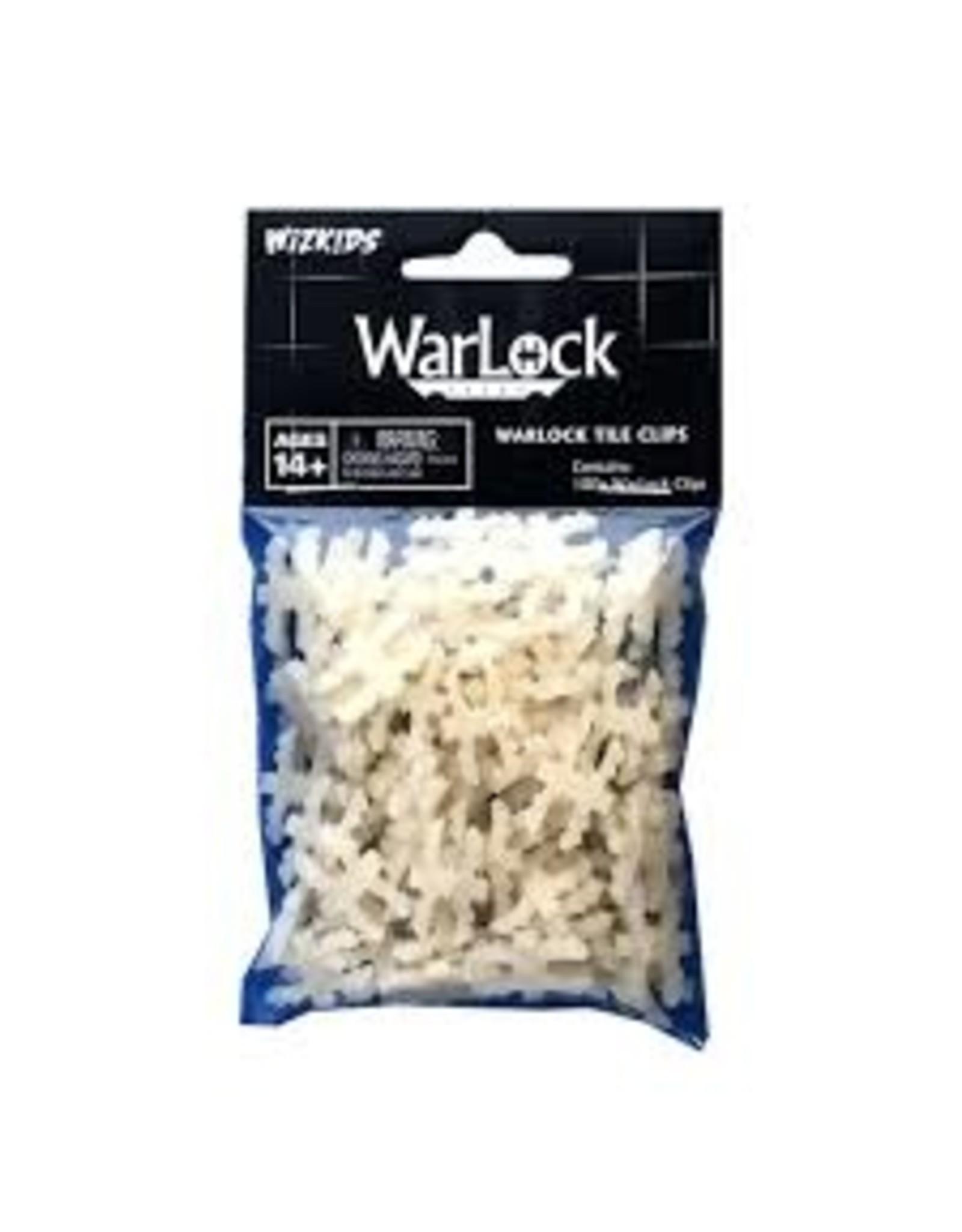 Wiz Kids WarLock Tiles: WarLock EZ Clips (100 ct.)