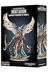 Warhammer 40K Chaos: Death Guard Daemon Primarch Mortarion