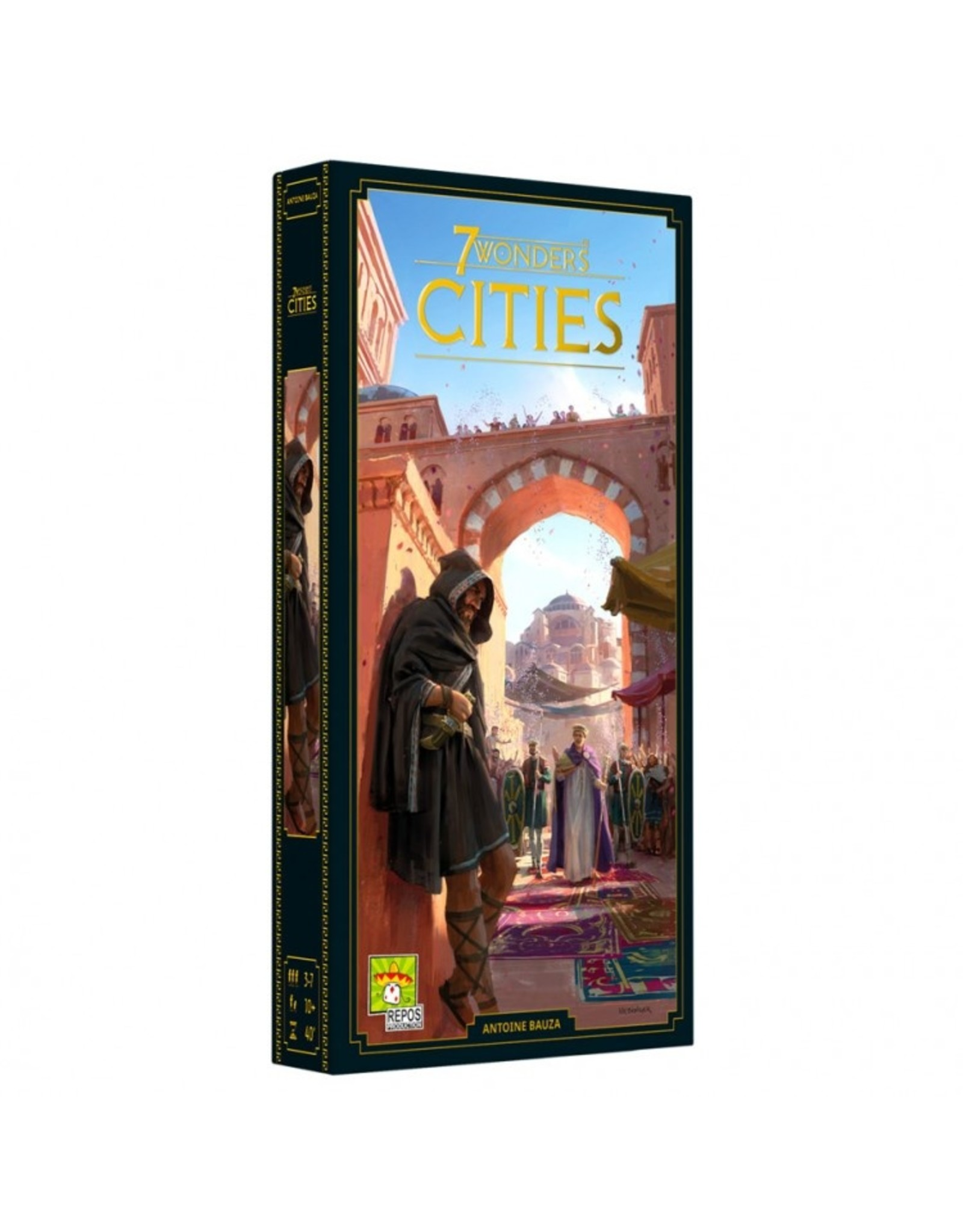 Asmodee 7 Wonders: Cities (New Edition)