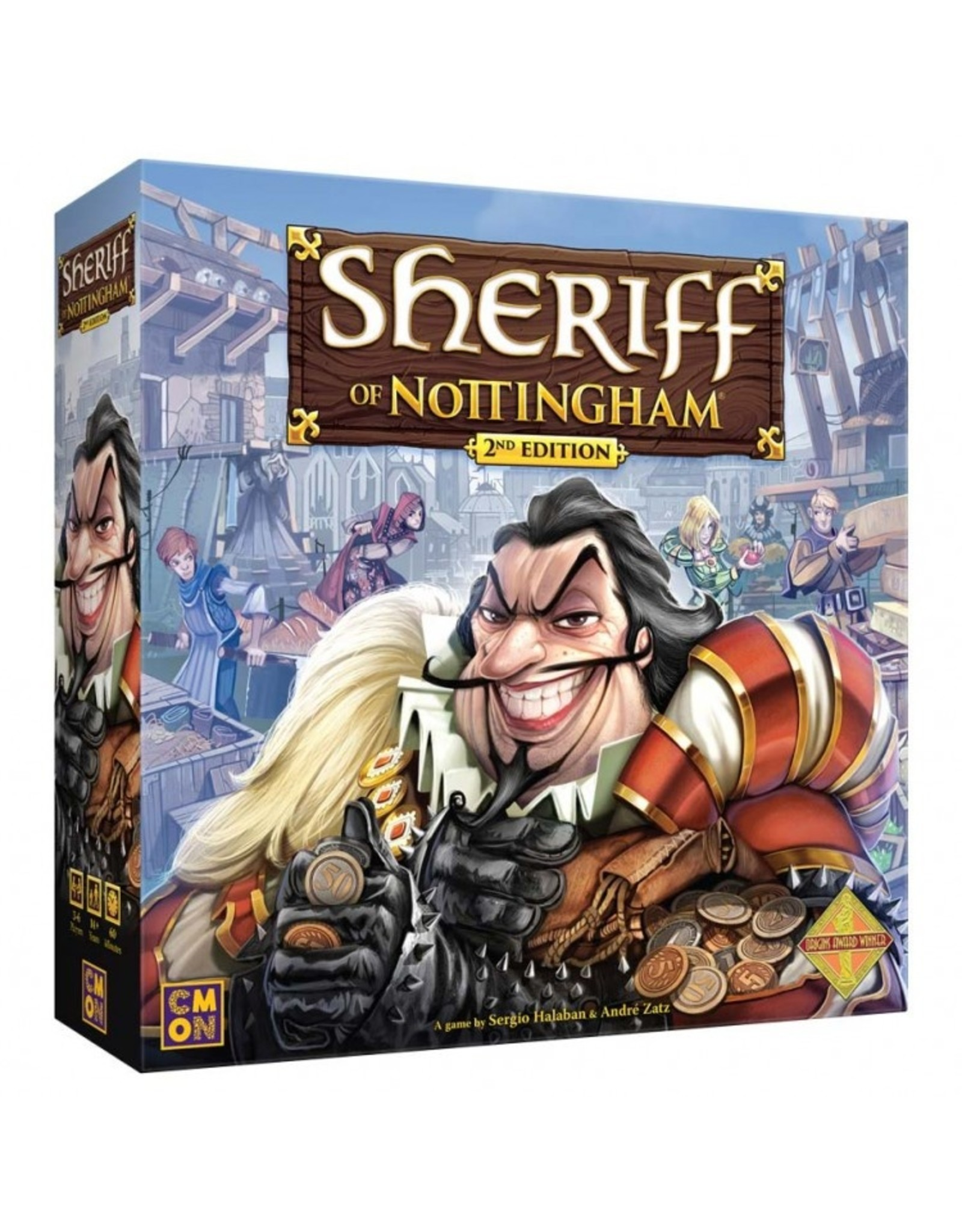 Cool Mini or Not Sheriff of Nottingham, 2nd Edition