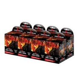 Wiz Kids Dungeons & Dragons Fantasy Miniatures: Icons of the Realms Set 15 Fangs and Talons Booster Brick (8)