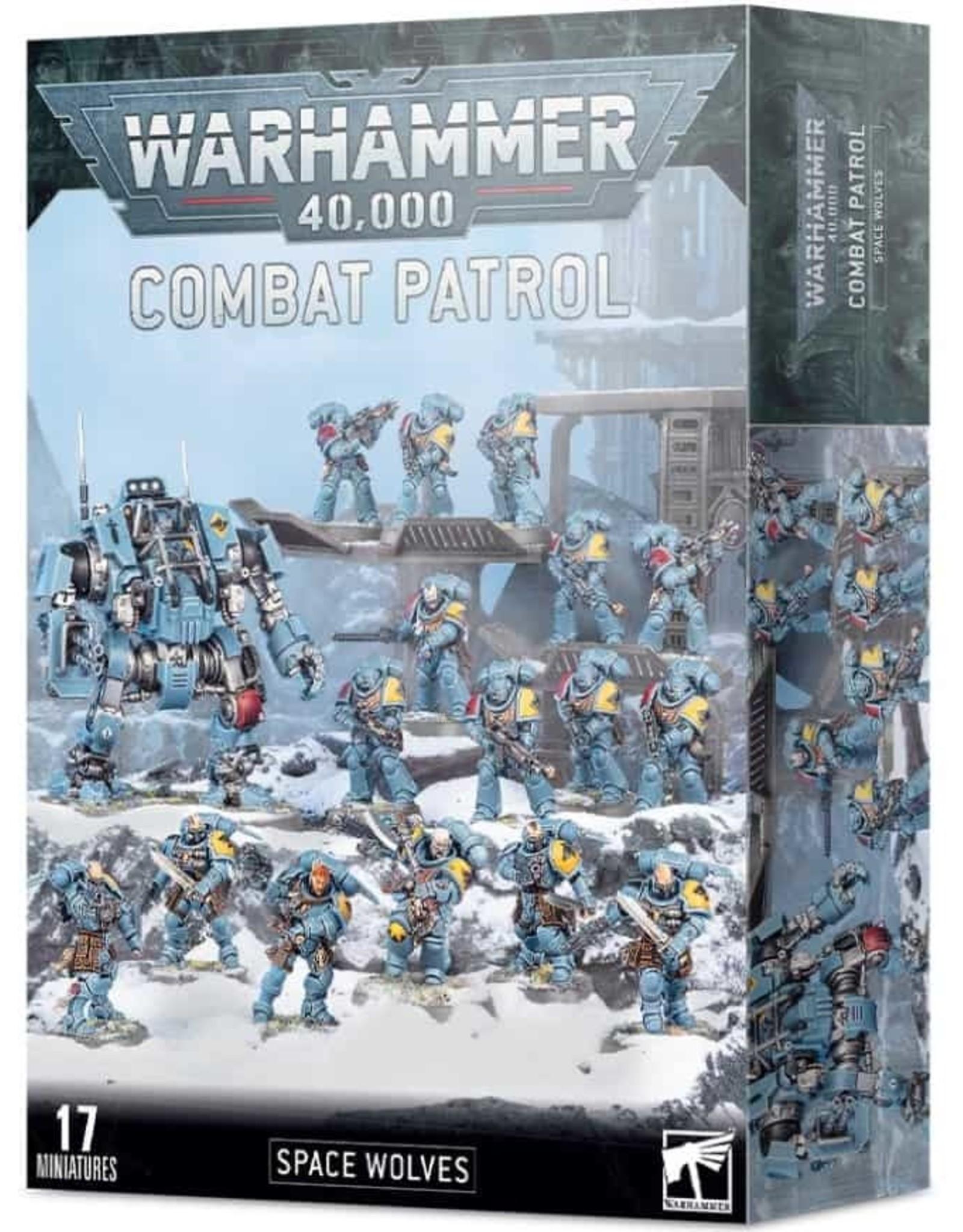 Warhammer 40K Combat Patrol: Space Wolves