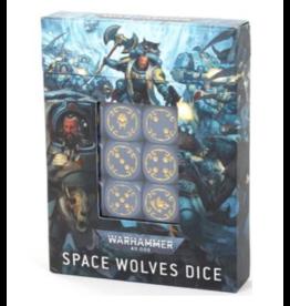 Warhammer 40K Space Wolves Dice Set (Pre Order)