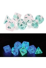 Sirius Dice 7-Set Glowworm Frosted