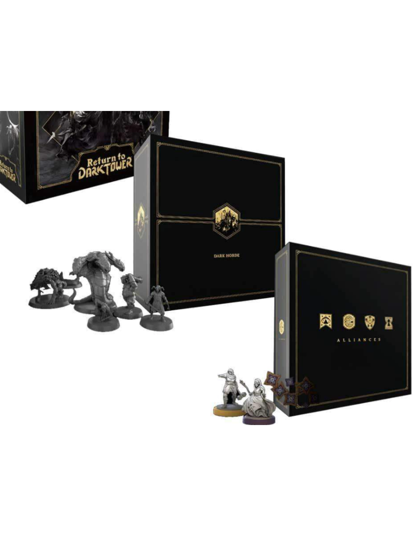 Restoration Games Return to Dark Tower: Dark Horde and The Coffers