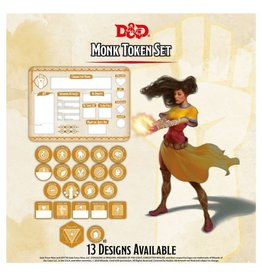D&D: Character Tokens: Monk