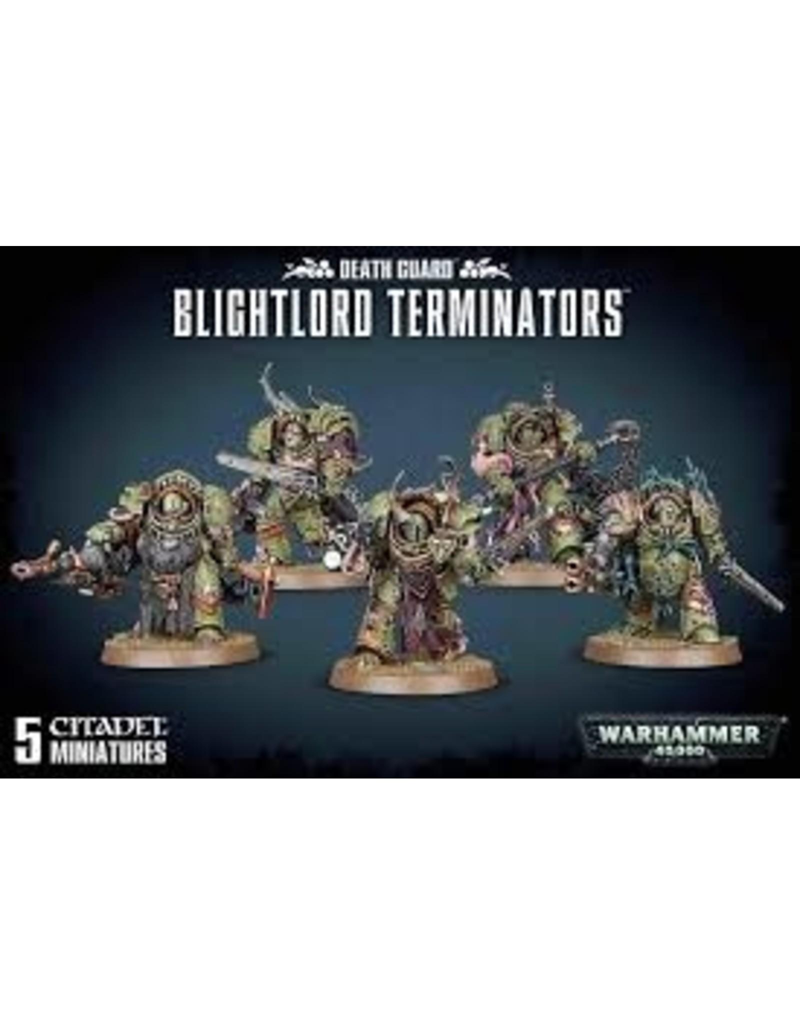 Warhammer 40K Chaos Death Guard: Blightlord Terminators