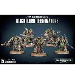 Warhammer 40K Chaos Death Guard: Blightlord Terminators