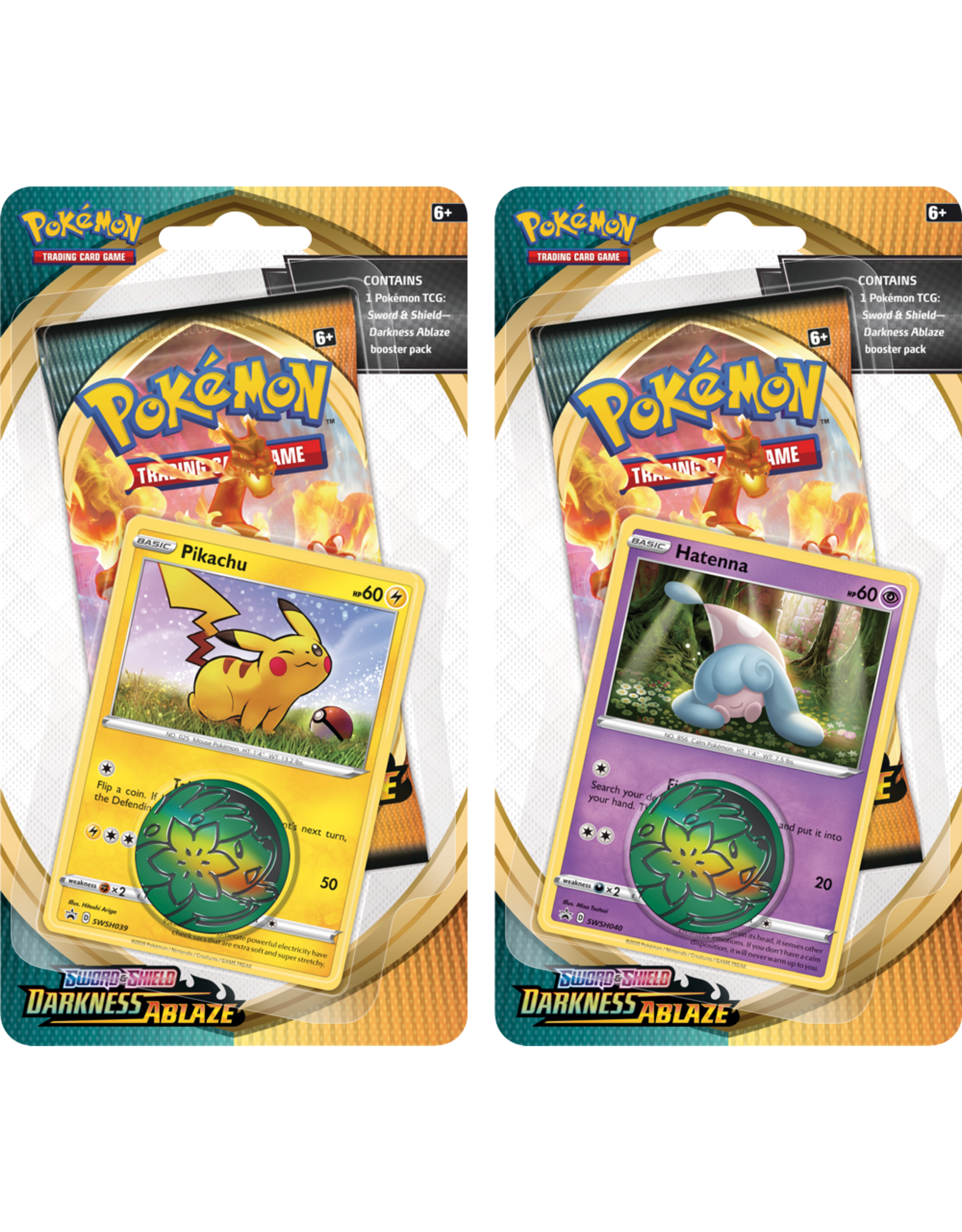 Pokemon Pokemon Darkness Ablaze Check Lane Booster