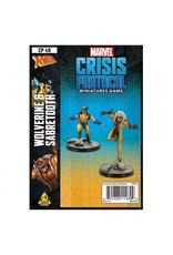 Atomic Mass Games Marvel: Crisis Protocol - Wolverine & Sabertooth