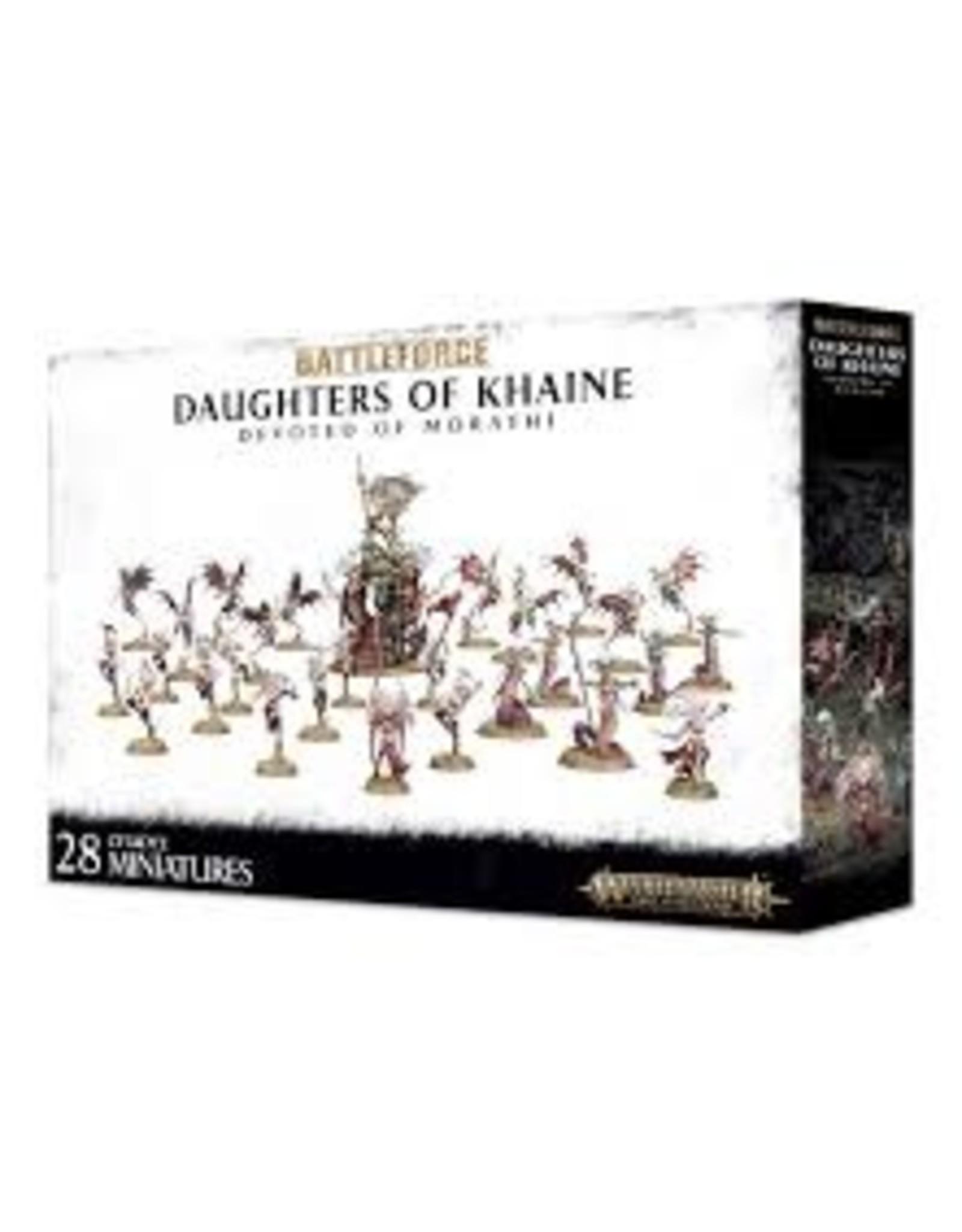 Warhammer 40K Daughters Of Khaine Devoted Of Morathi