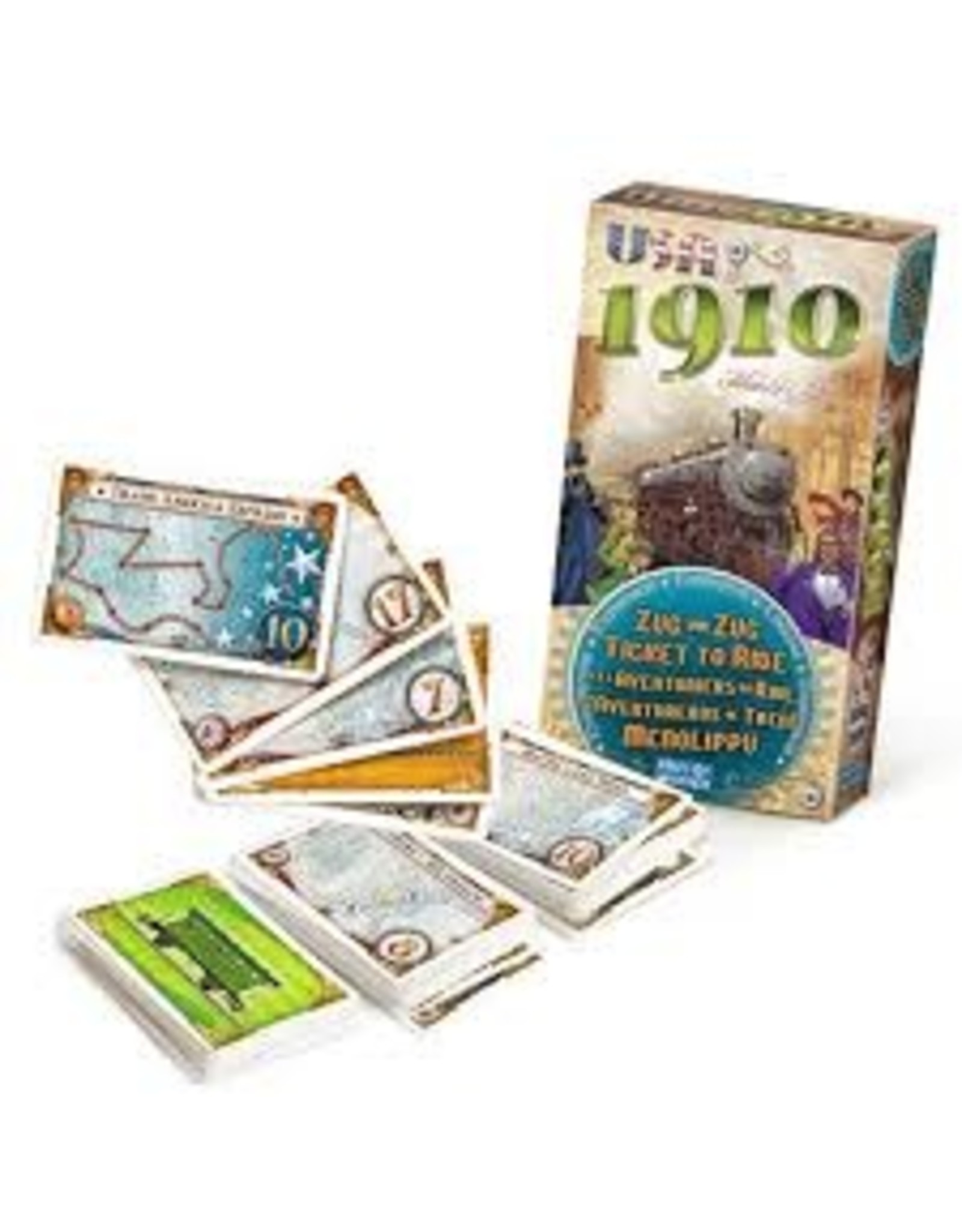 Days of Wonder Ticket To Ride: Usa - 1910 Expansion