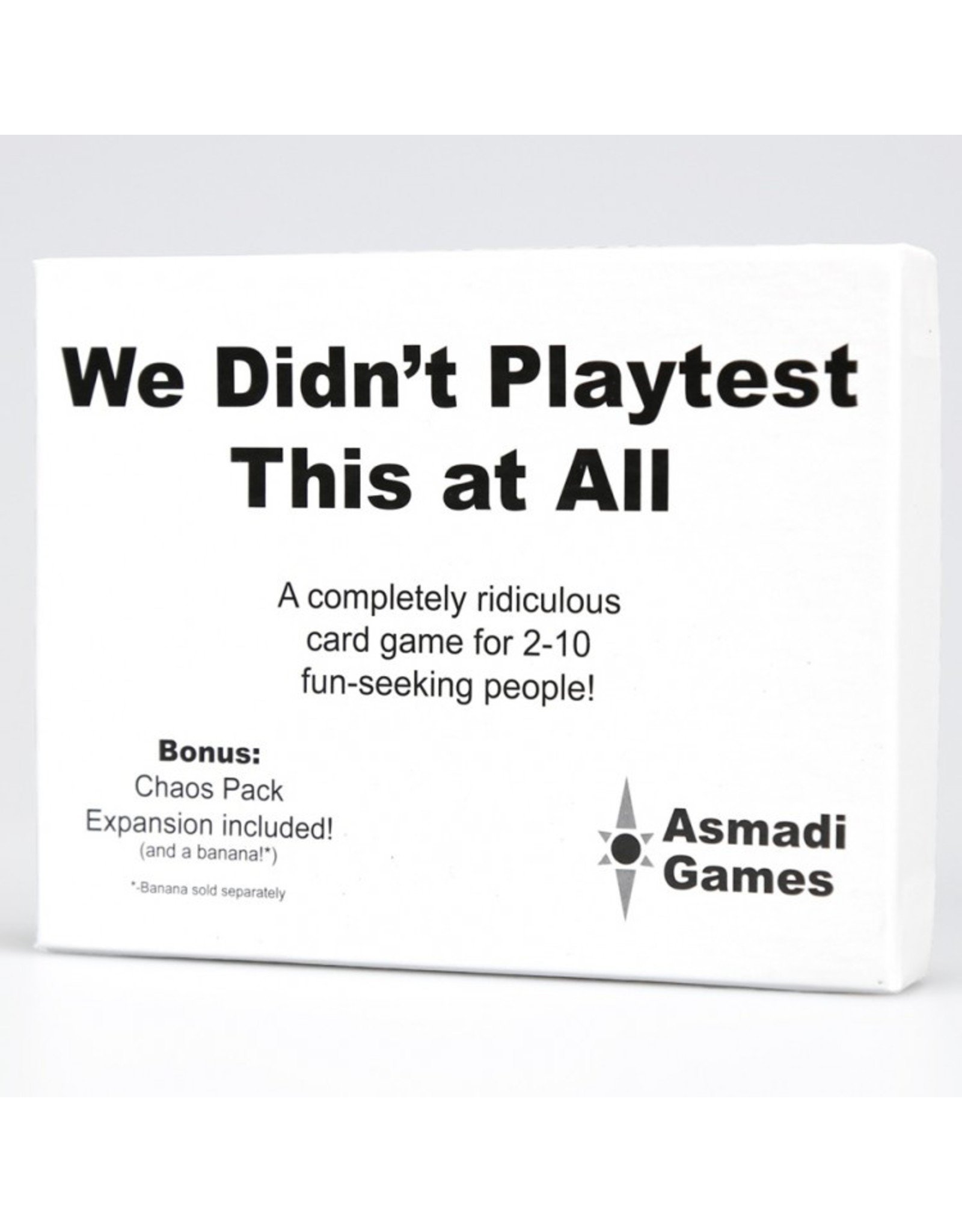 Asmadi We Didn't Playtest This at All