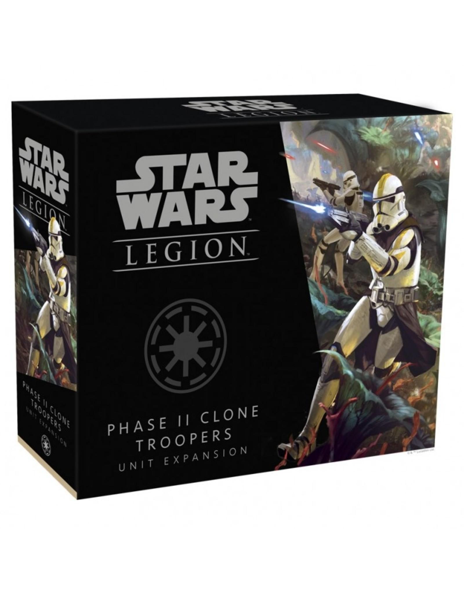 Fantasy Flight Games Star Wars: Legion - Phase II Clone Troopers Unit Expansion