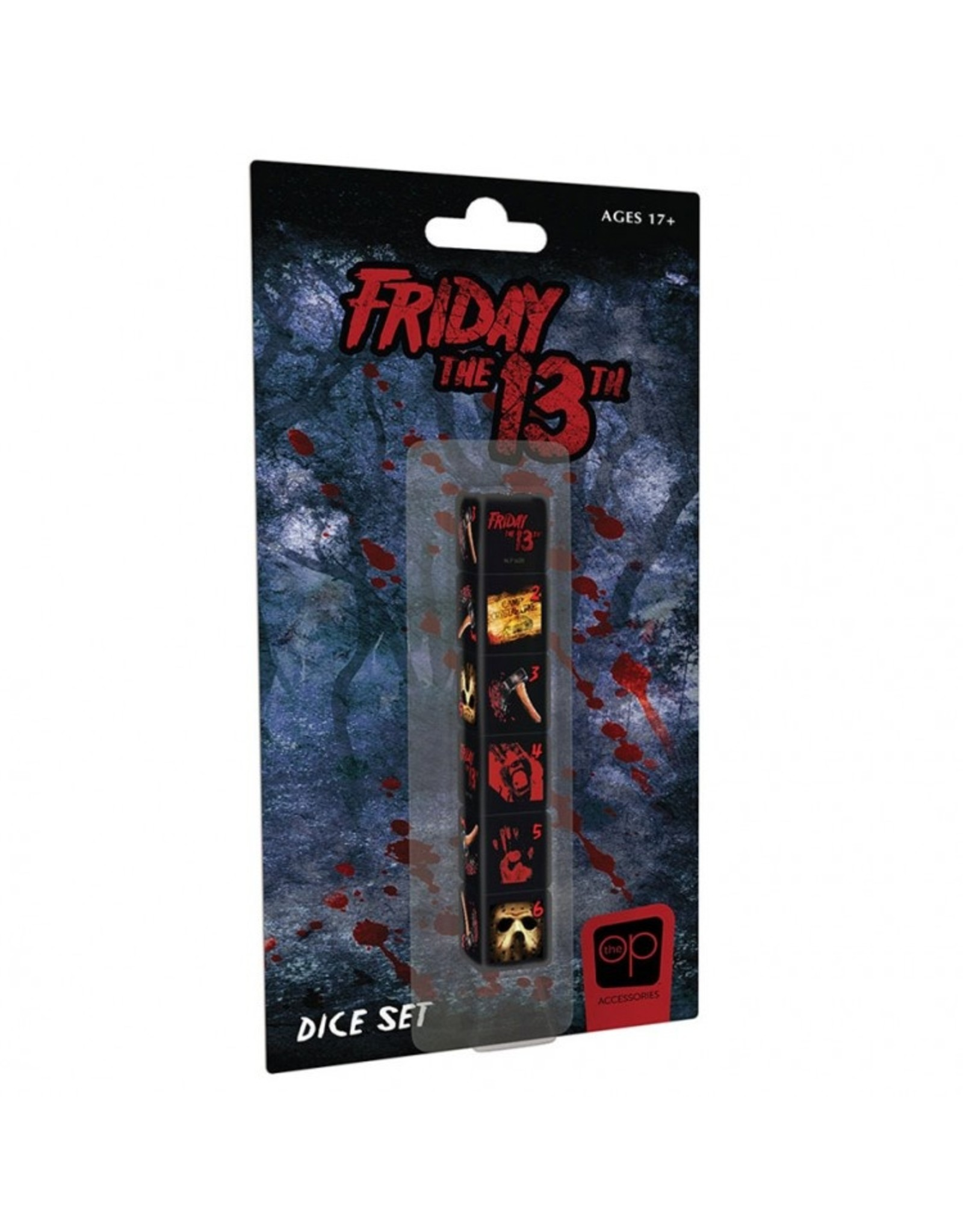 The OP d6 Friday the 13th Dice (6)