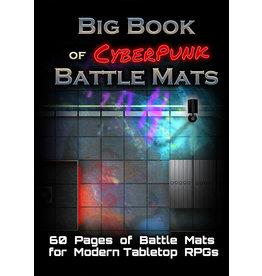 Loke Battlemats Battle Mats: Big Book of CyberPunk Battle Mats