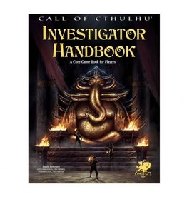 Chaosium Call of Cthulu 7th Ed Investigator Handbook