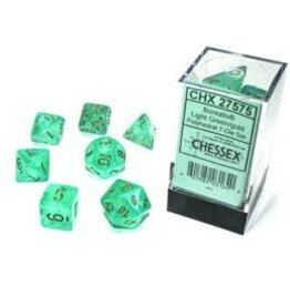 Chessex 7-SetCube Borealis Luminary LTGRgd