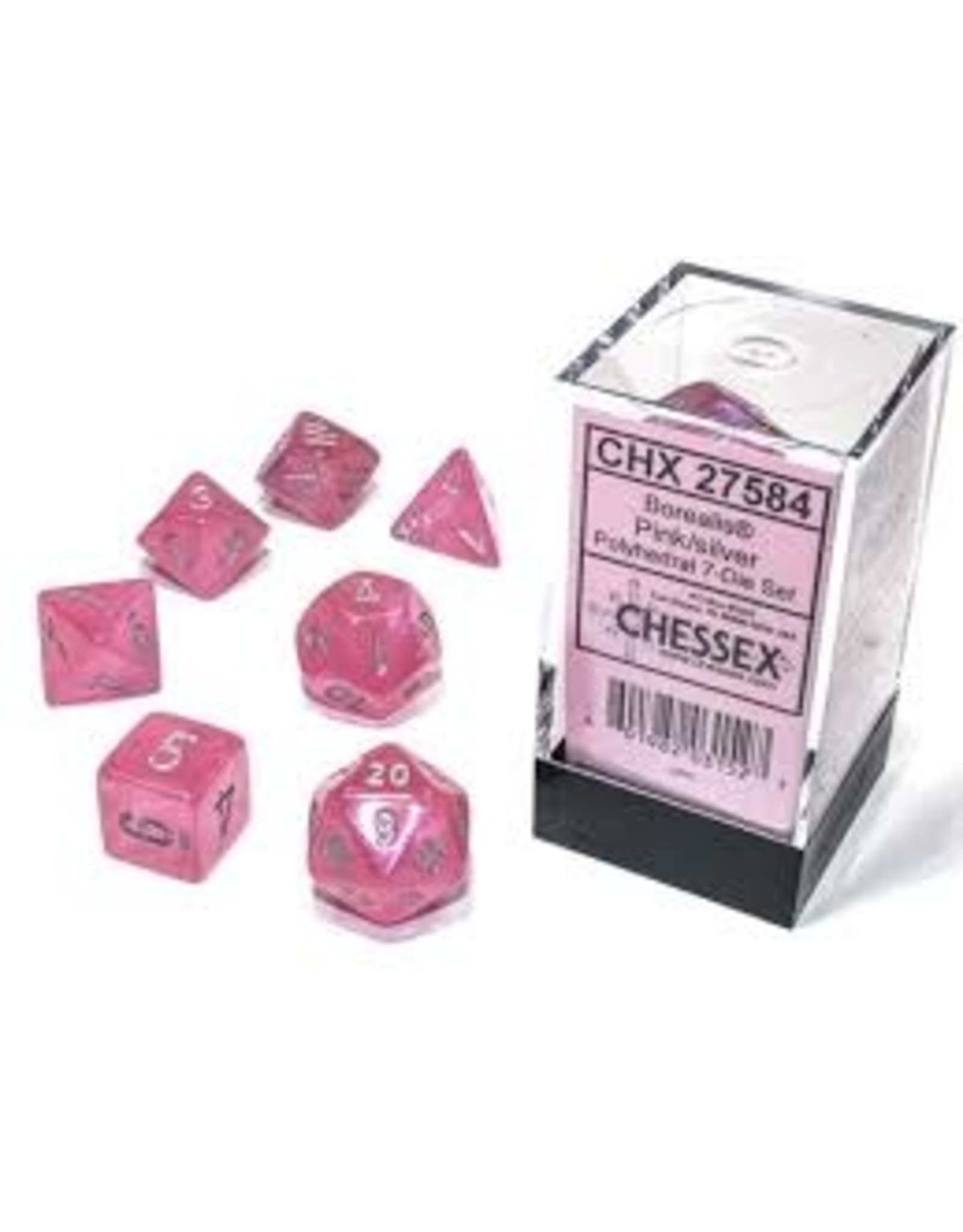 Chessex 7-SetCube Borealis Luminary PKsv