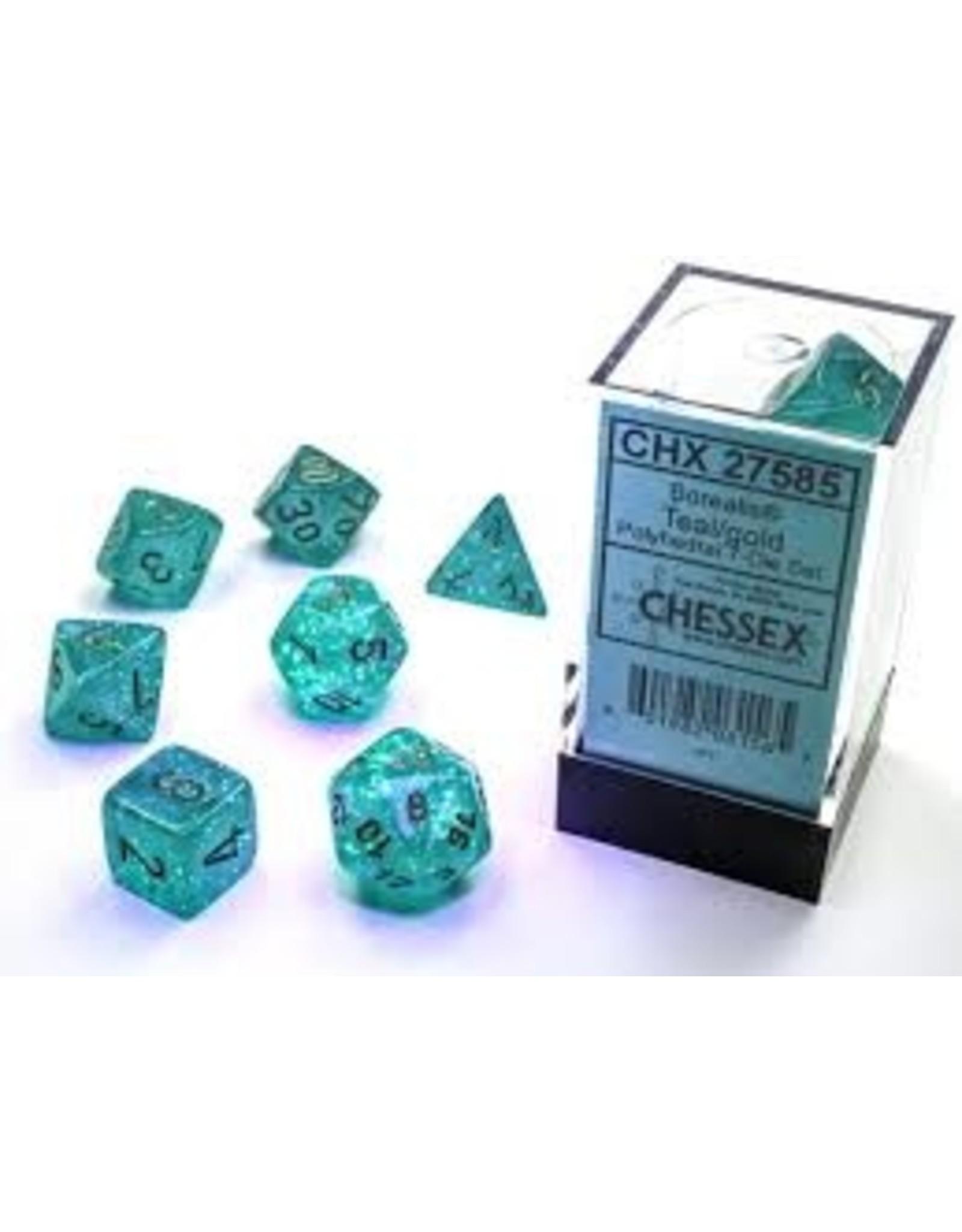 Chessex 7-SetCube Borealis Luminary TLgd