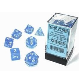 Chessex 7-SetCube Borealis Luminary SBUwh