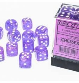 Chessex d6Cube16mm Borealis Luminary PUwh (12)