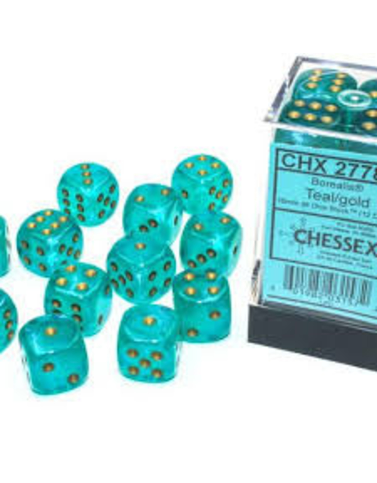 Chessex d6Cube16mm Borealis Luminary TLgd (12)