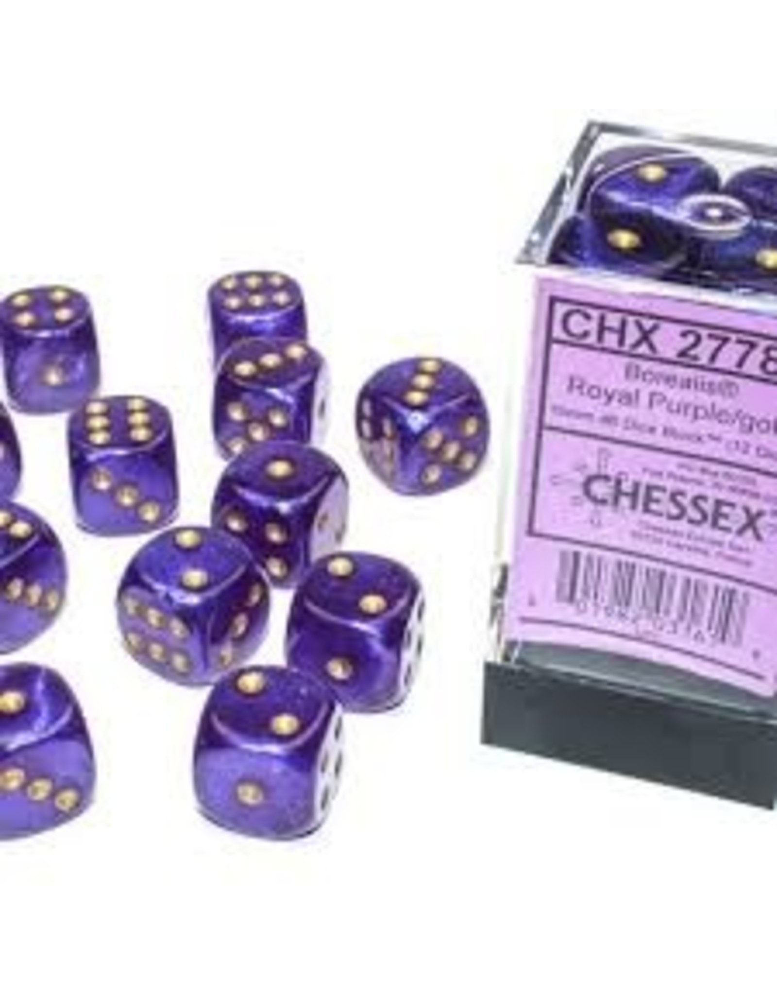 Chessex d6Cube16mm Borealis Luminary RYLPUgd(12)