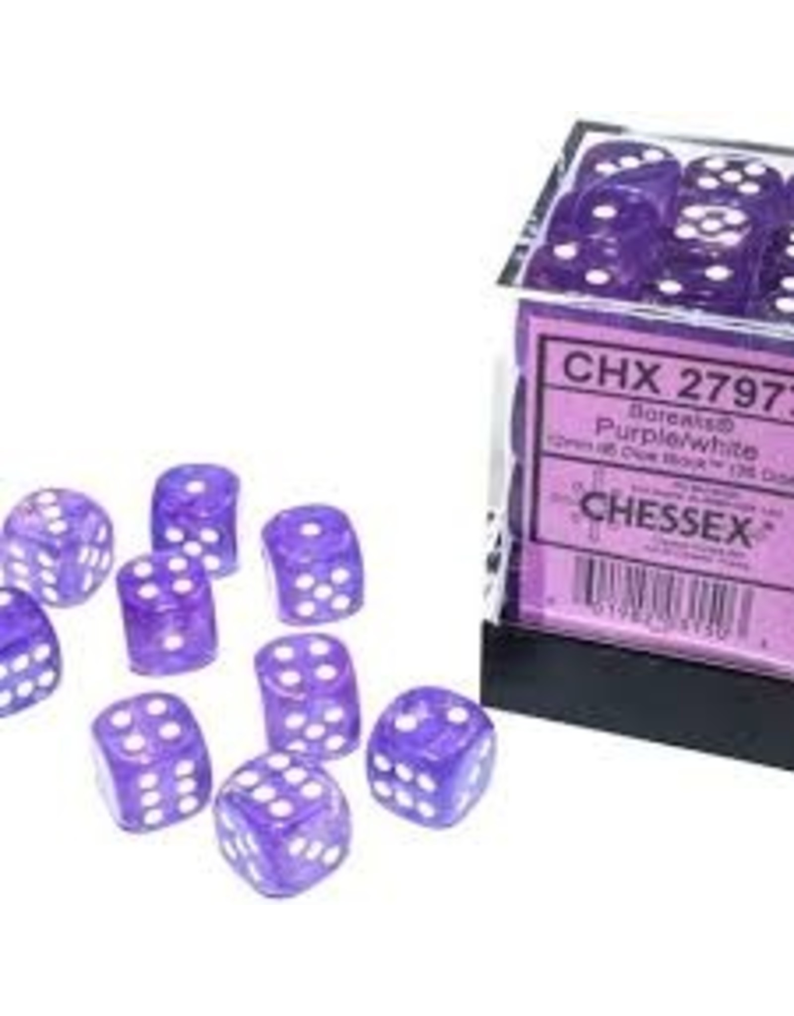 Chessex d6Cube12mm Borealis Luminary PUwh (36)