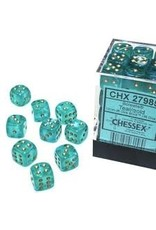 Chessex d6Cube12mm Borealis Luminary TLgd (36)
