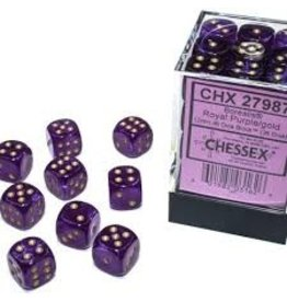 Chessex d6Cube12mm Borealis Luminary RYLPUgd(36)