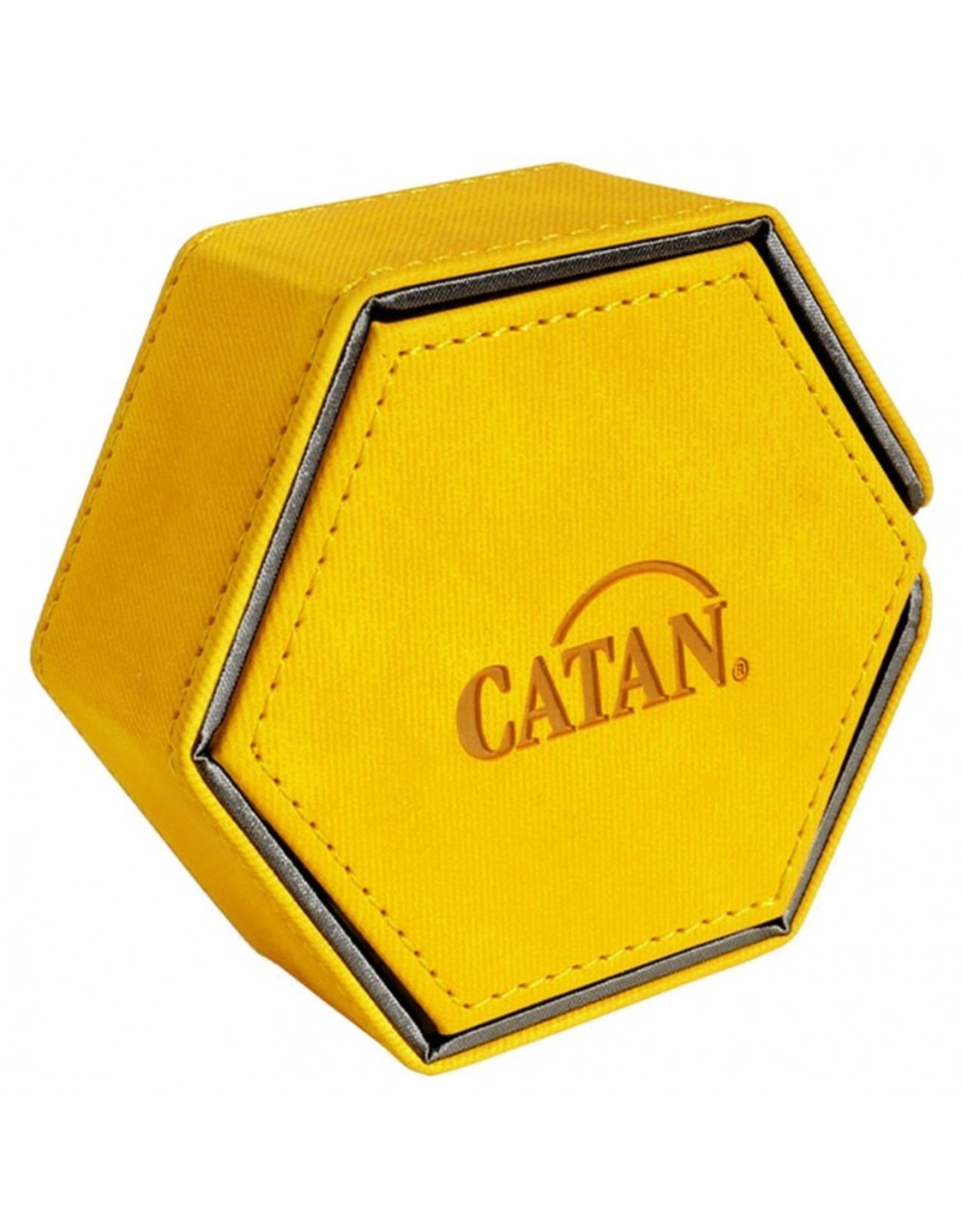 GameGenic Dice Tower: Catan: Hexatower Yellow