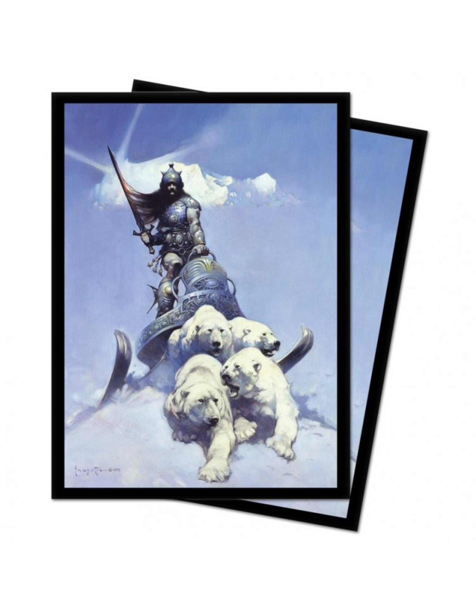 Ultra Pro DP: Frazetta: Silver Warrior (100)