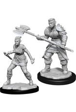 Wiz Kids Nolzur's MUM: W13 Orc Barbarian Female