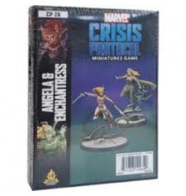 Atomic Mass Games Marvel Crisis Protocol: Angela & Enchantress Character Pack