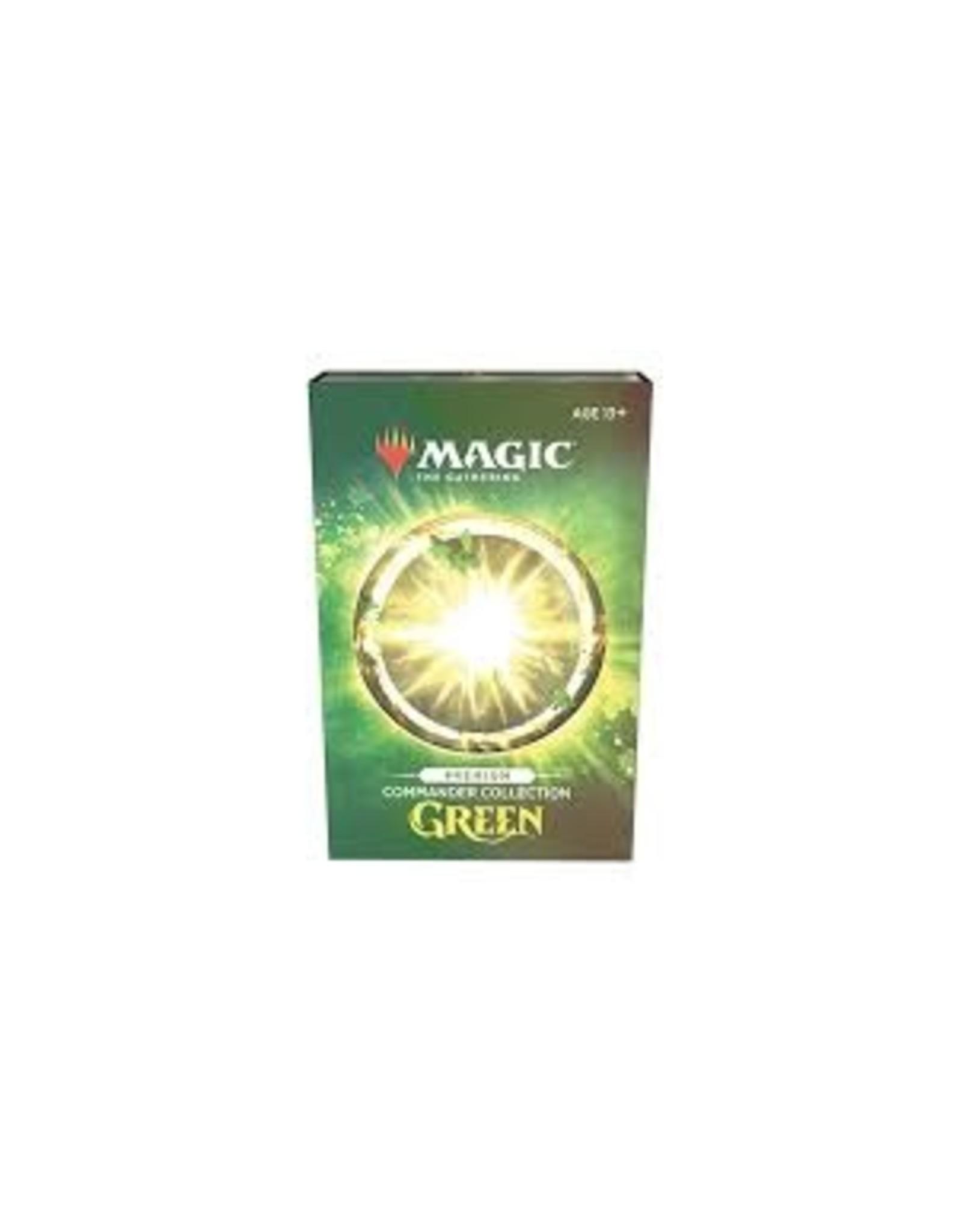 Magic MtG: Commander Collection: Green - Premium Edition