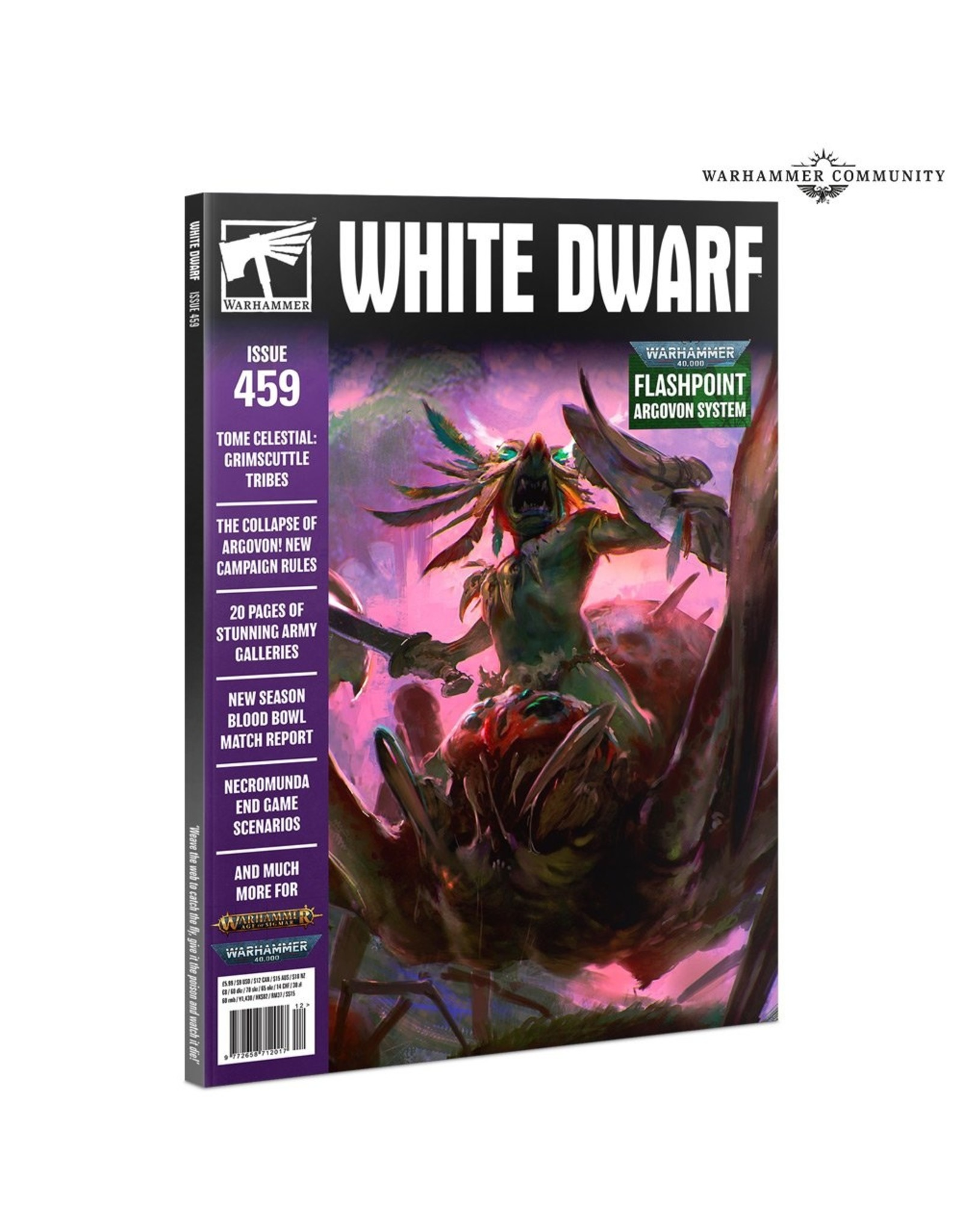 Citadel White Dwarf 459 (Dec-2020)