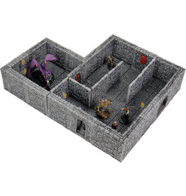 Wiz Kids WarLock Tiles: Dungeon Tiles II - Full Height Stone Walls