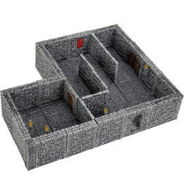 Wiz Kids WarLock Tiles: Dungeon Tiles II - Full Height Stone Walls Expansion