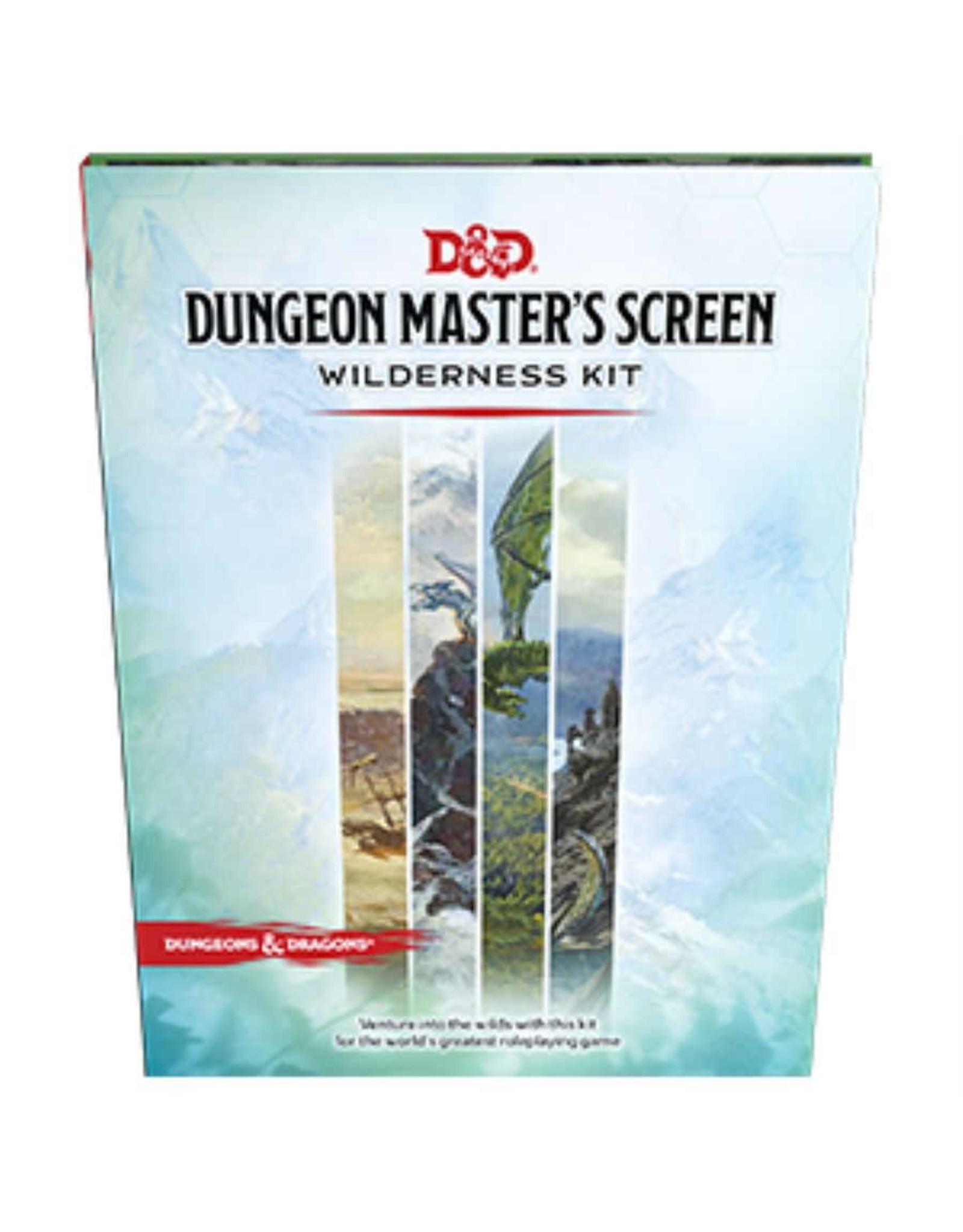 Dungeons & Dragons D&D 5E: DM Screen: Wilderness Kit