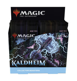 Magic Magic The Gathering: Kaldheim Collector Booster Box (12Ct)