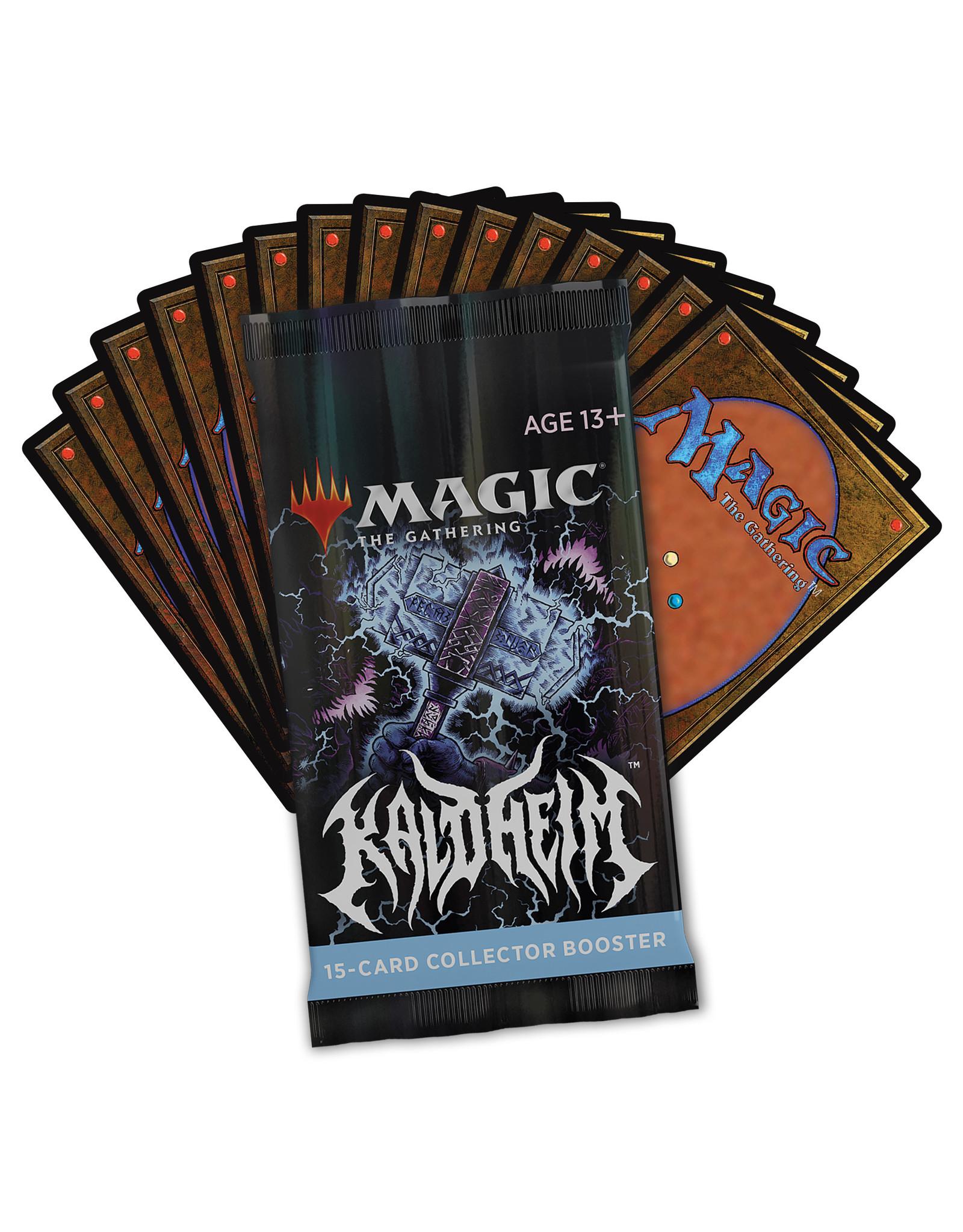 Magic Magic The Gathering: Kaldheim Collector Booster Box (12Ct)