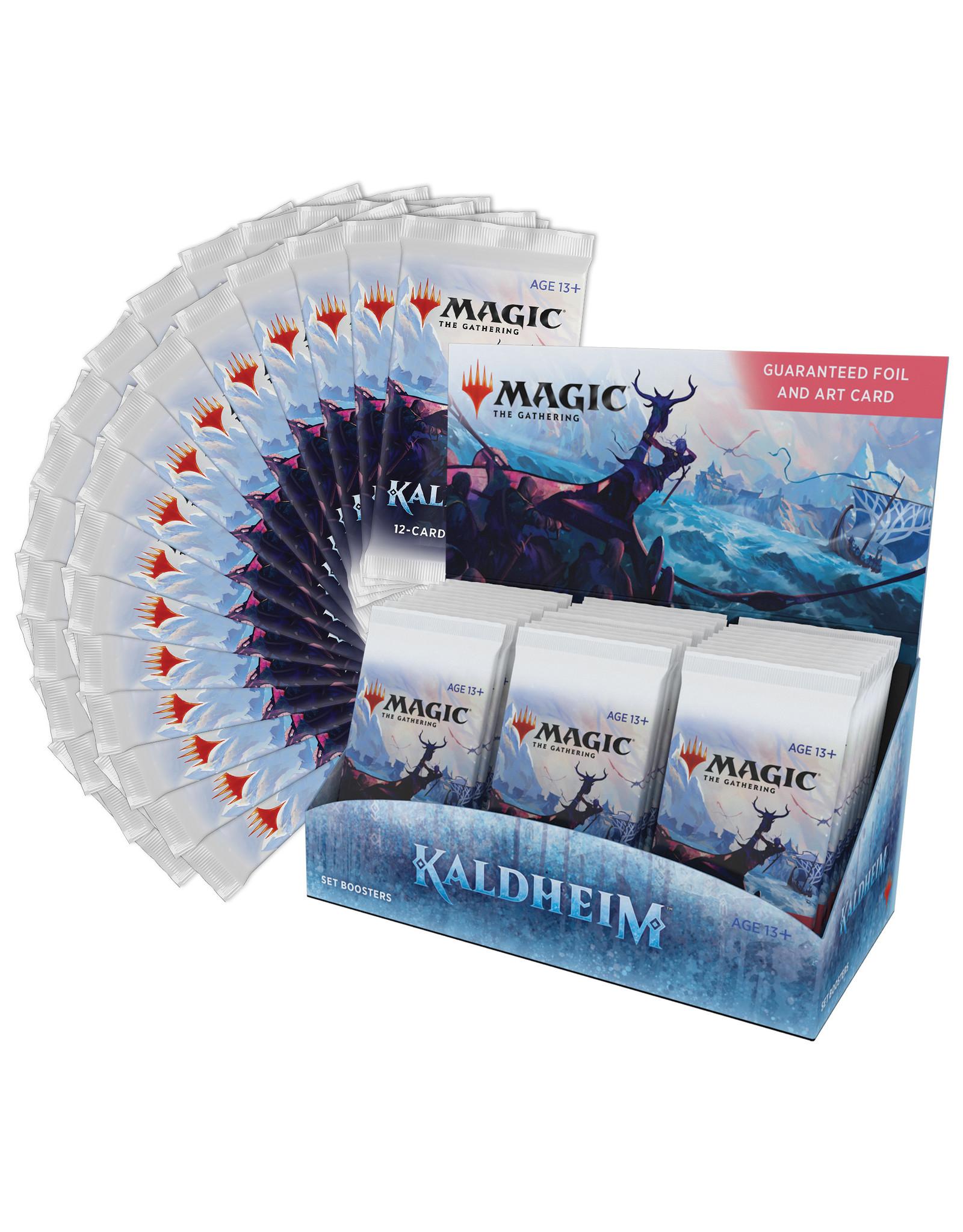 Magic Magic The Gathering: Kaldheim Set Booster Box (30Ct)