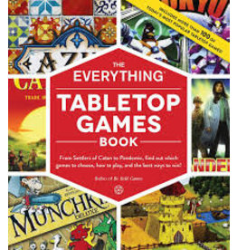 Adams Media The Everything Tabletop Games Book