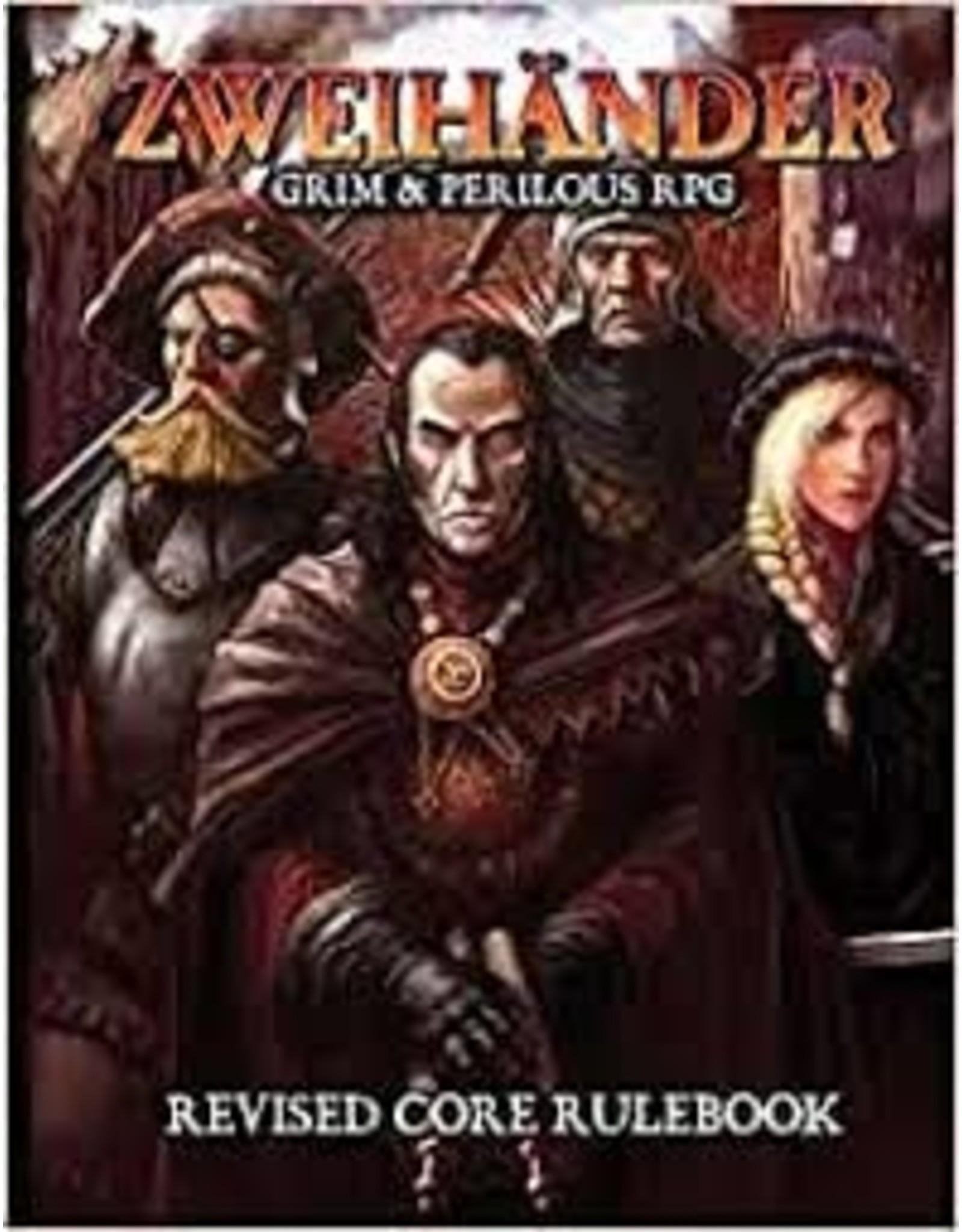 Amp Adult ZWEIHANDER: Grim & Perilous RPG Corebook